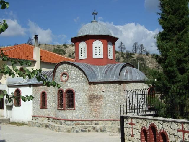 Pefkohori_Monastery_of_Agios_Ioannis_of_Rossou
