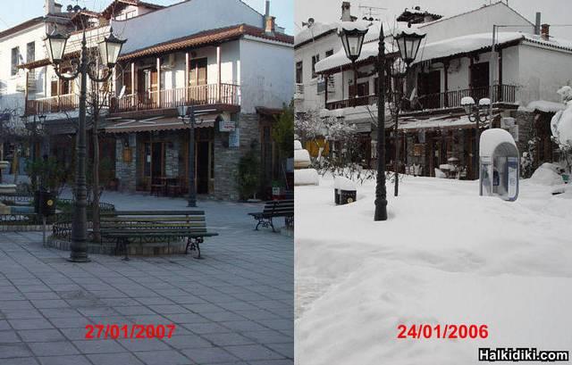 Agios Nikolaos square (Sithonia)