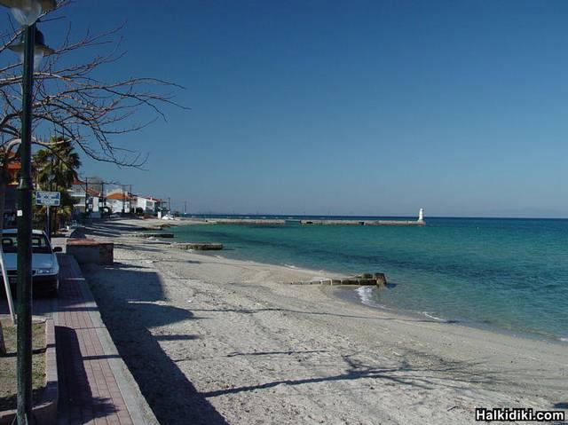 Pefkohori beach