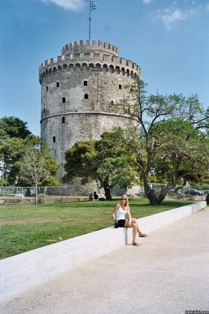 soph at white tower thessaloniki 2006