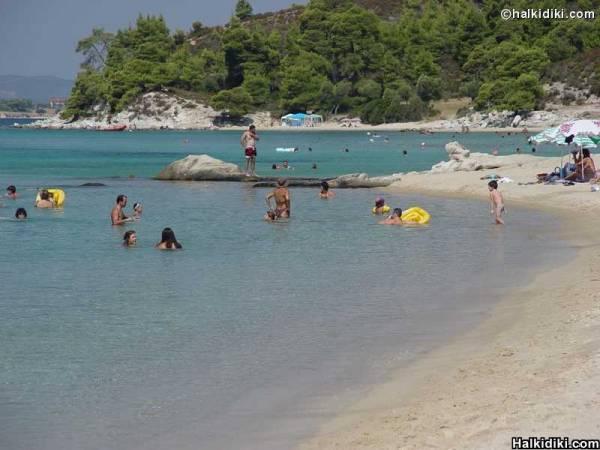 kalogria beach, Nikiti, Sithonia, Halkidiki, Greece
