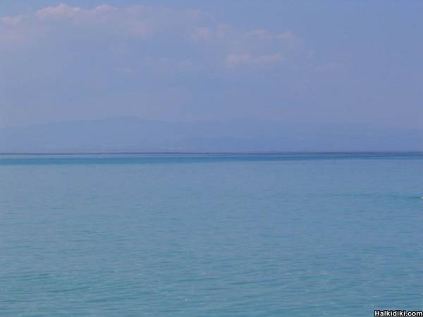 View of the calm and serene sea