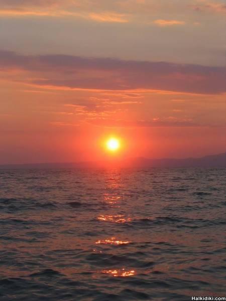 Magical Sun at Kriopigi
