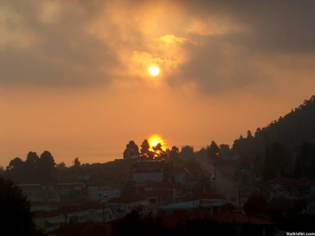 Sunrise, the final one from Kriopigi 2006