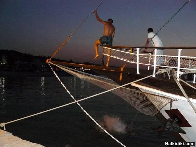 Pefkohori Boat Jump