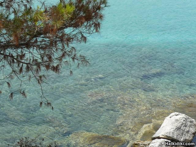 Glarokavos Beach Stone Bay