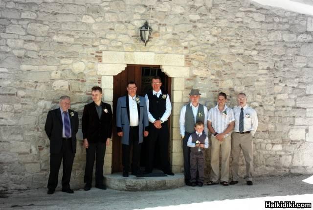 outside kassandria town hall chapel