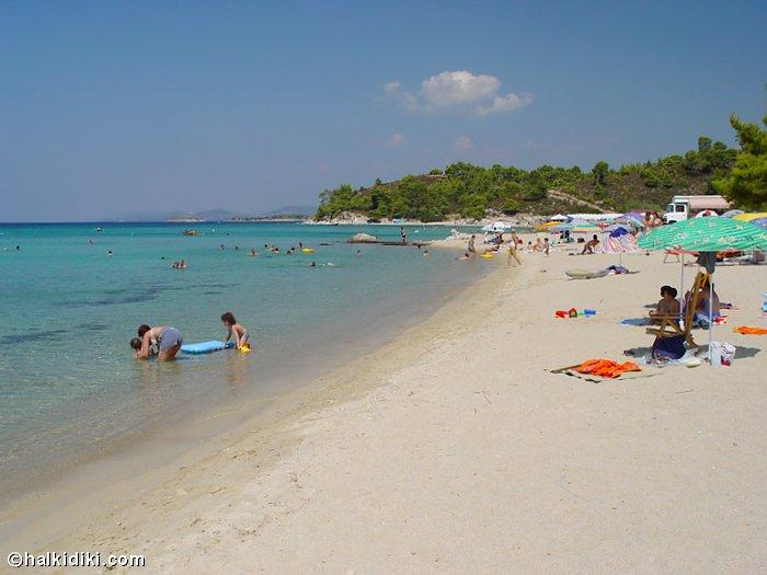 Photos of Kalogria Beach in Nikiti Sithonia Halkidiki Greece