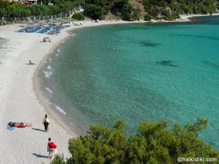 Photos of Koviou Beach in Nikiti Sithonia Halkidiki Greece
