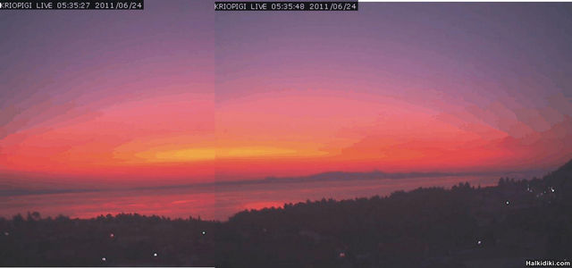 Kalimera - Good Morning from Kriopigi