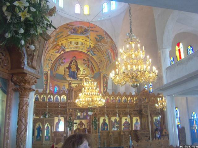 THE CHURCH INSIDE