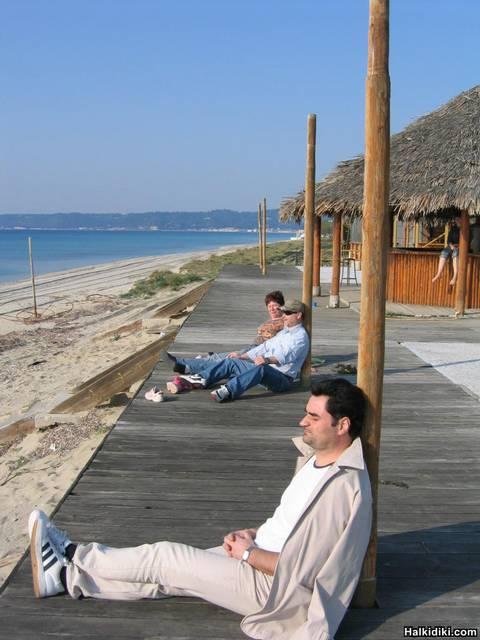 Beach Bar in Possidi Camping