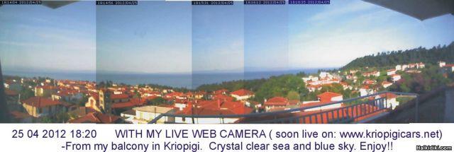 Kalimera from Kriopigi !!