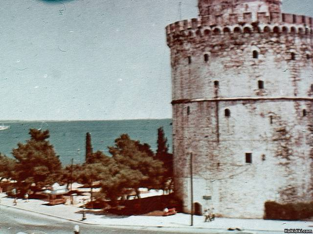 White_Tower1950ish_withour_first_roll_off_slide_film_Agfa_I_think_