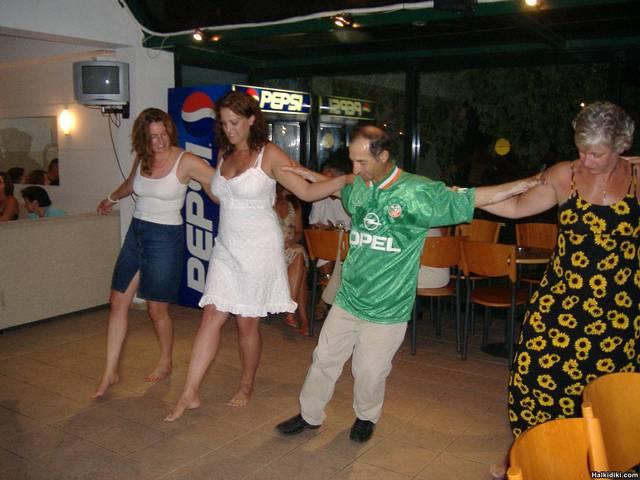 aristidis greek dancing