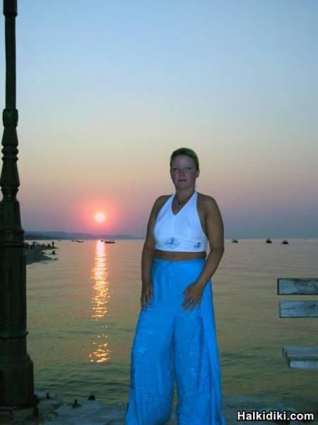 hellen at sunset