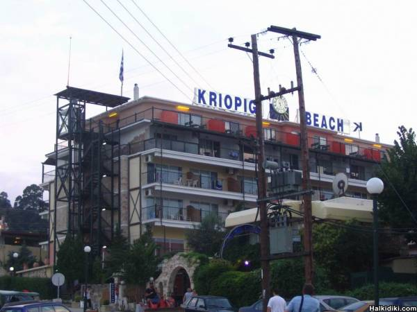 Kriopigi Beach Hotel, July 8 2006