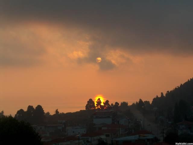 Sunrise in KRIOPIGI Today, October the 7th