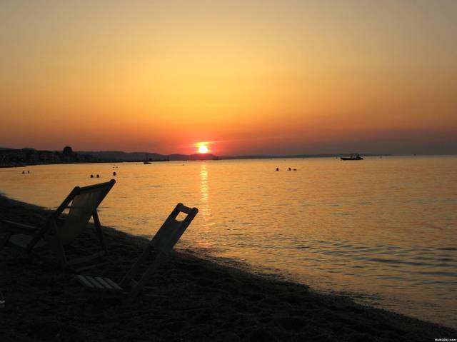 Pefkohori-sunset