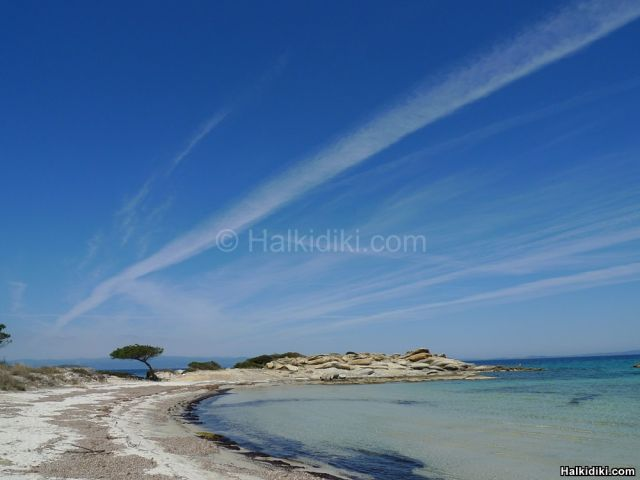 Karidi beach in Vourvourou - Spring time