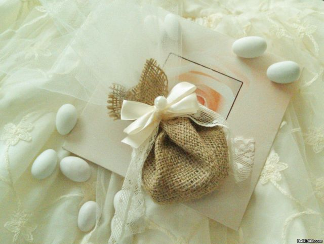 Handmade wedding favors