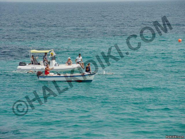 Swim round Diaporos island