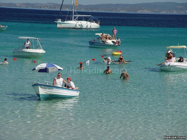 2nd Swim around Diaporos island - Finish line