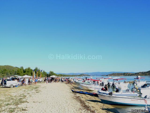 2nd Swim around Diaporos island