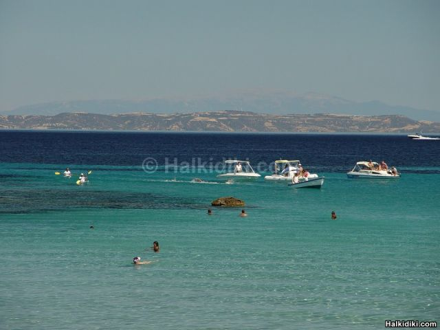 2nd Swim around Diaporos island - Finish line