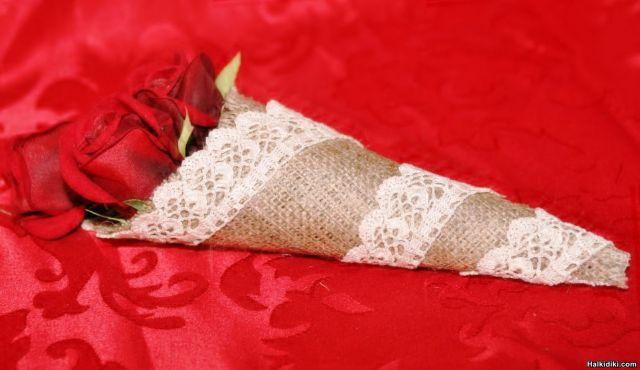 wedding cones
